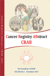 Cancer Registry ABstract (CRAB) The Newsletter of NCRP, 2017